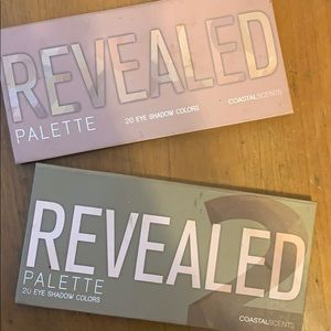 Costal scents revealed and revealed 2 palettes